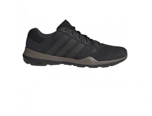 Pantofi sport Adidas EGQ-H7LTW pentru bărbați din piele naturală, negri, cu talpă plată și rezistentă, Anzit DLX