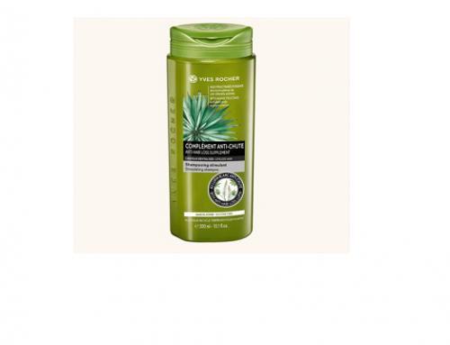 MBsH-U4LM Yves Rocher, șampon împotriva căderii părului și pentru hidratare, cu extract de agave și Lupin alb