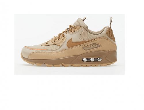 Pantofi sport bărbați Nike DbH-G43UTW din piele naturală, Air Max 90 Surplus, cu talpă solidă anti-derapantă