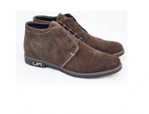 Pantofi de damă Themis BwG-E4HDQ casual din piele naturală, maro, cu toc plat și talpă joasă, cu blăniță pe interior