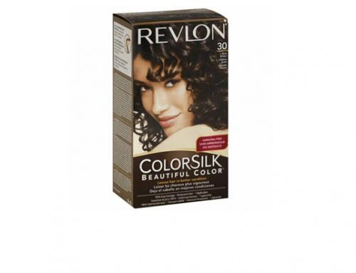 Vopsea de păr Revlon EwSL-F4GQM nuanță 30 Dark Brown pentru un aspect natural și mătăsos, fără amoniac