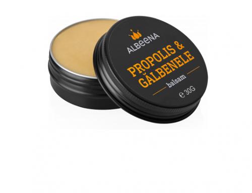 Albeena DSwKL5U, balsam de față natural cu extract de propolis și gălbenele, pentru hidratare și anti-îmbătrânire