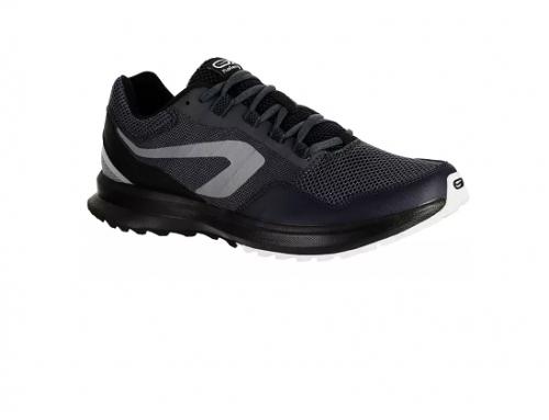 Pantofi sport TLS-BwD5MG Kalenji pentru bărbați, negri, pentru alergare, cu talpă intermediară din EVA