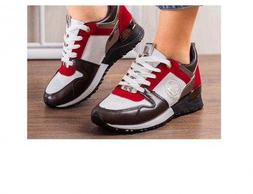 Pantofi sport SBQ-H4wE Lahimma de damă albi din material textil și piele ecologică
