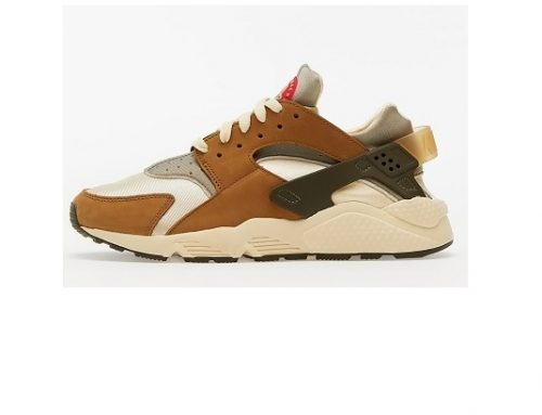 Nike x Stüssy TQS-Mswg5L, pantofi sport pentru bărbați din piele naturală cu talpă interioară Air Sole