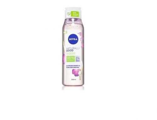 Nivea wqsmT2LZ, gel de duș hrăntor și hidratant cu ulei de argan, pentru toate tipurile de piele
