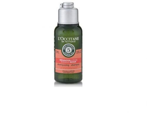 Șampon hrănitor T-Sdqmg3TZ L'Occitane cu ulei de lavandă, portocală și mușcată, Aromachology, pentru păr deshidratat