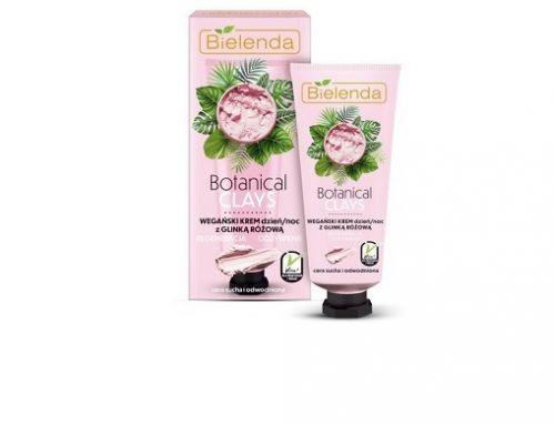 Bielenda QLTsw2MLT, cremă de față cu argilă roz și acai, vegană, pentru detoxifierea tenului și hidratare