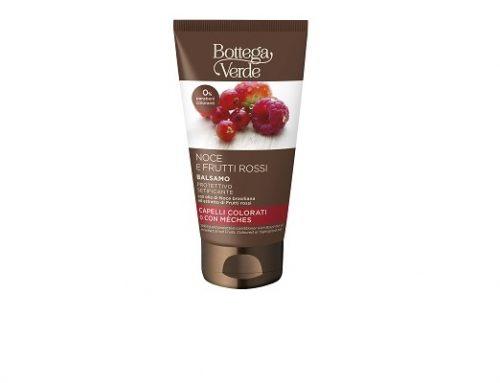 Balsam BottegaV Qgwz2M pentru păr vopsit cu fructe roșii și ulei de nuci braziliene, pentru hidratare și strălucire