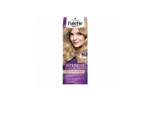 Vopsea de păr Palette Intensive permanentă blond deschis natural, cu cheratina, pantenol și ulei nutritiv