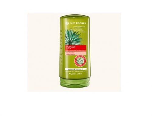 Balsam Yves Rocher SVE42TQ pentru păr vopsit cu pulpe de Acai și extract de agave