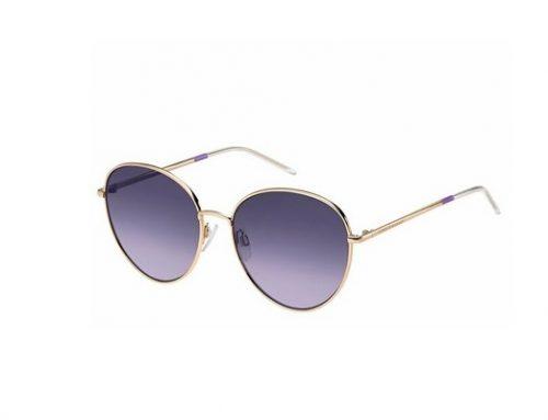 Ochelari de soare SHME52Y Tommy Hilfiger de damă polarizați cu lentile mov și rama din metal