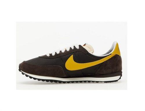 Pantofi sport NIKE Waffle Trainer pentru bărbați clasici maro din material textil cu talpă plată