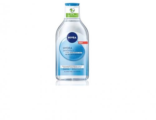 Apă micelară LHU3L Nivea pentru hidratarea tenului și curățare, cu acid hialuronic, Hydra Skin Effect