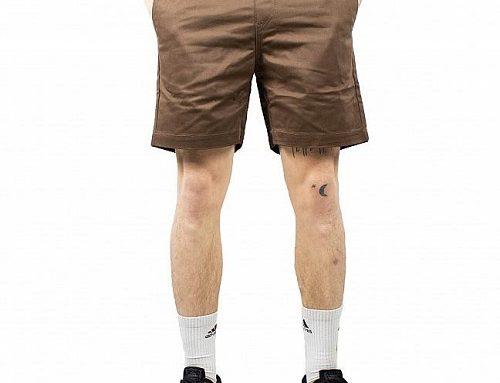 Pantaloni scurți Volcom Frickin Skate pentru bărbați din bumbac drepți cu talie elastică