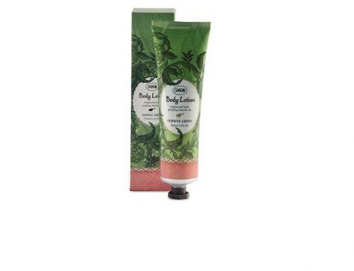 Cremă de corp Sabon Blissful Green cu ulei de măsline și avocado pentru hidratarea pielii