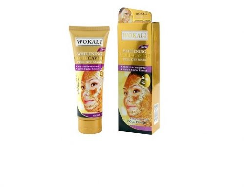 Mască de față Wokali anti-îmbătrânire și pentru ten acneic, cu colagen, caviar și Vitamina A