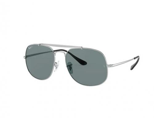 Ochelari de soare DLKH2Q Ray-Ban bărbați polarizați Pilot cu lentile albastre tip oglindă, RB3561