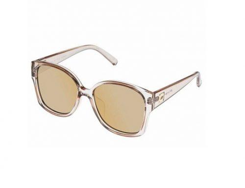 Ochelari de soare WDN3SQ Le Specs Athena de damă polarizați cu lentile galbene și ramă completă