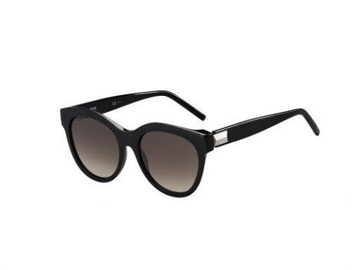 Ochelari de soare LWQF3F Hugo Boss de damă rotunzi polarizați cu lentile maro gradient, 1203/S 807/HA