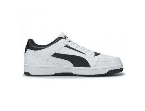 Pantofi sport pentru bărbați Puma Rebound Joy Low albi cu talpă plată