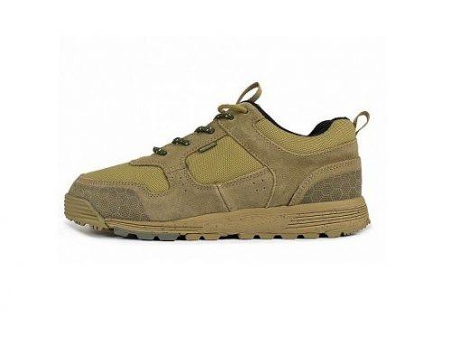 Pantofi sport Element Backwoods pentru bărbați, kaki, din piele naturală întoarsă și cu talpă intermediară