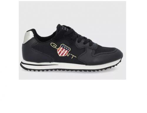 Pantofi sport pentru femei Gant Beja din piele naturală și material textil, cu talpă plată