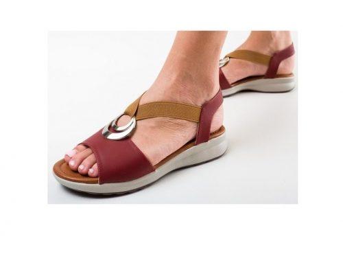 Stelari DLNDE3SQ, sandale de damă casual cu talpă joasă, fără toc și cu inserție elastică