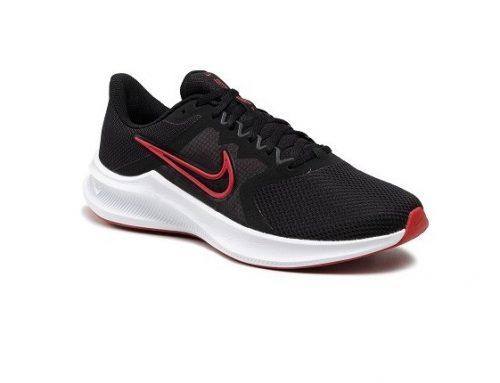 Nike Downshifter DGFLWS, pantofi sport pentru bărbați negri din material textil cu plasă