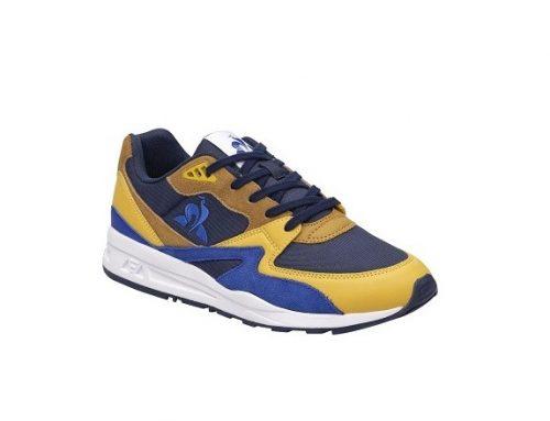 Pantofi sport ESWLHF Le Coq Sportif pentru bărbați, albaștri, din material textil și piele întoarsă