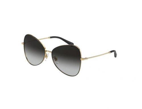 Dolce & Gabbana DHKLWH, ochelari de soare damă polarizați cu lentile gri și rama stil fluture