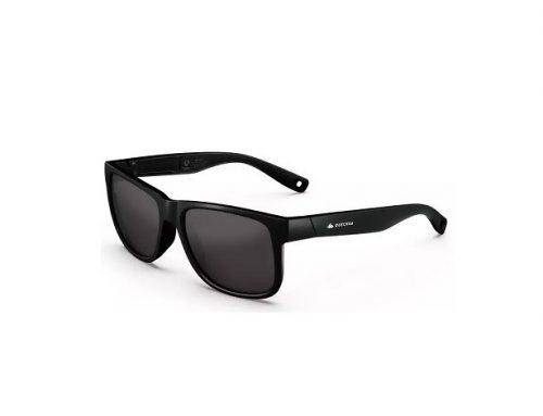 Quechua SDFWLK, ochelari de soare pentru bărbați polarizați negri cu ramă completă