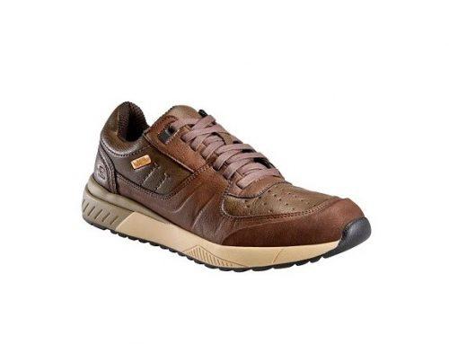 Pantofi sport  din piele Skechers Felano pentru bărbați, maro, cu talpă plată din spumă EVA