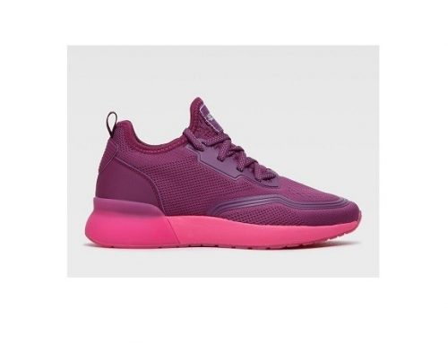 Pantofi sport mov BFHFWF Sprandi de damă din material textil, cu plasă și talpă plată