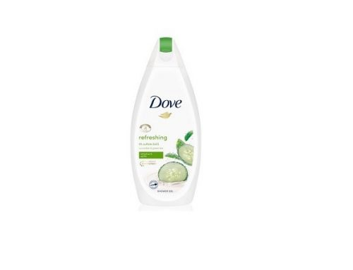 Gel de duș Dove hidratant și hrănitor cu extract de castravete, pentru piele sensibilă
