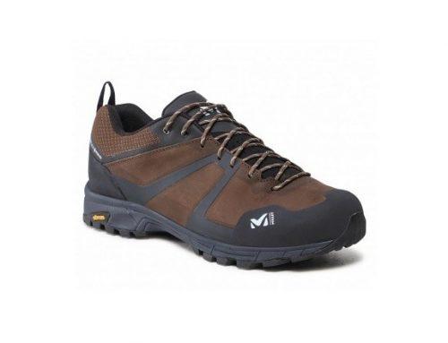Pantofi impermeabili BGTWDL Millet pentru bărbați, din piele năbuc, maro, cu tehnologia Gore-Tex